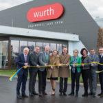 Wurth: Eröffnung Wurth Essenzenfabrik im ecoplus Wirtschaftspark nova city in Wiener Neustadt